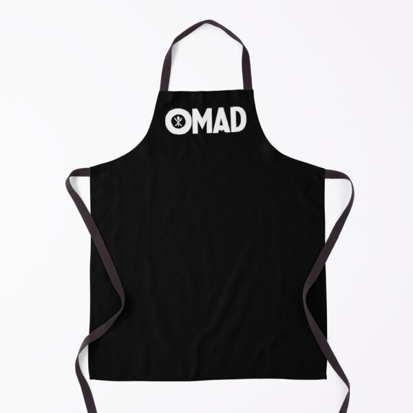 OMAD: One Meal a Day (Black) Apron