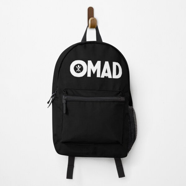 OMAD: One Meal a Day (Black) Backpack