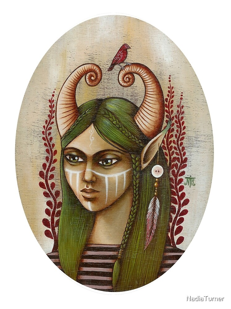 Nunuuika - the huntress by NadiaTurner