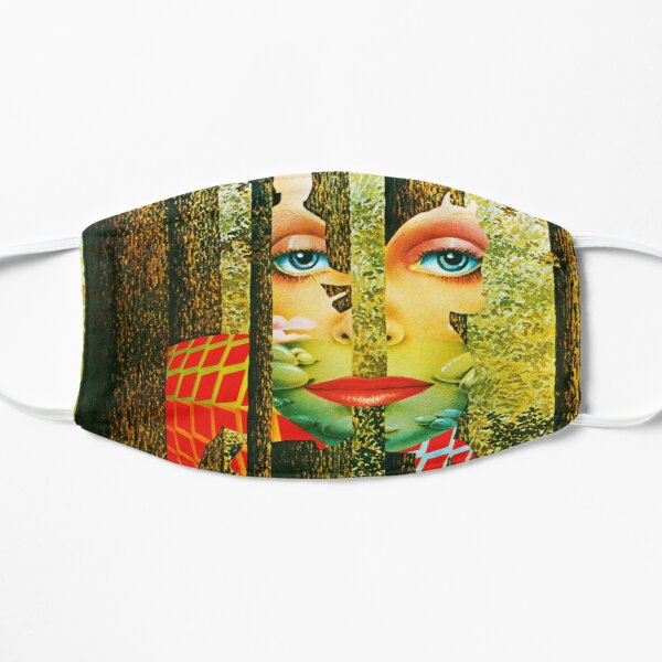 the grand illusion Flat Mask