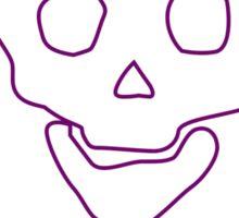 Punk Music Skull Sticker