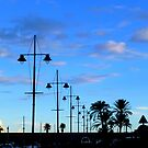 Menton At Dusk by Fara