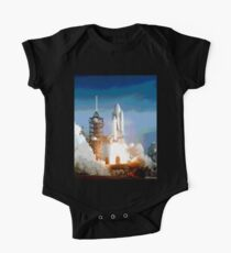 Space Shuttle Launch One Piece - Short Sleeve
