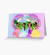 Team Princess Collection -THE WHOLE TEAM Greeting Card