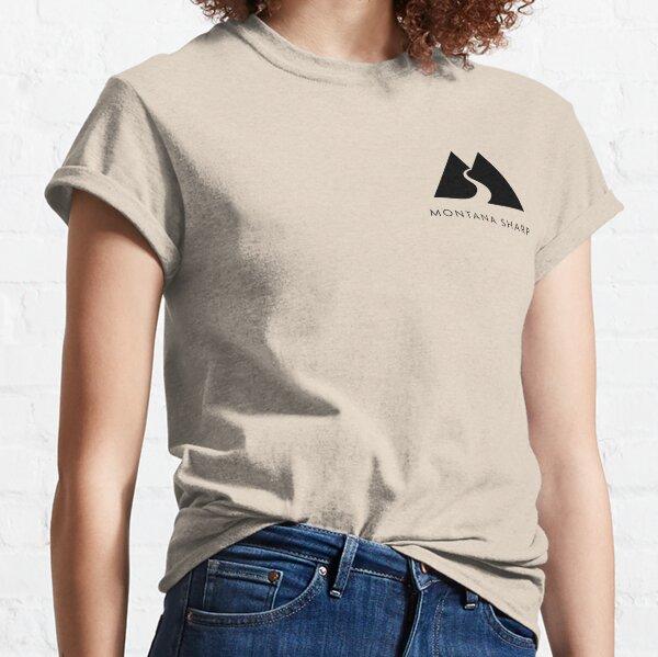 Montana Sharp Full Logo - Black Classic T-Shirt