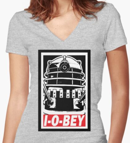 I-O-BEY ('74) Women's Fitted V-Neck T-Shirt