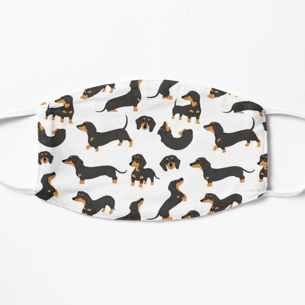 Süße Dackelhunde Flache Maske