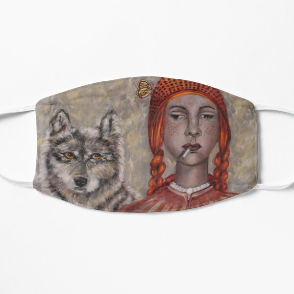 Red Riding Hood and the wolf Mask
