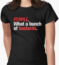 """""""People"""" Version 2 Women's Fitted T-Shirt"""