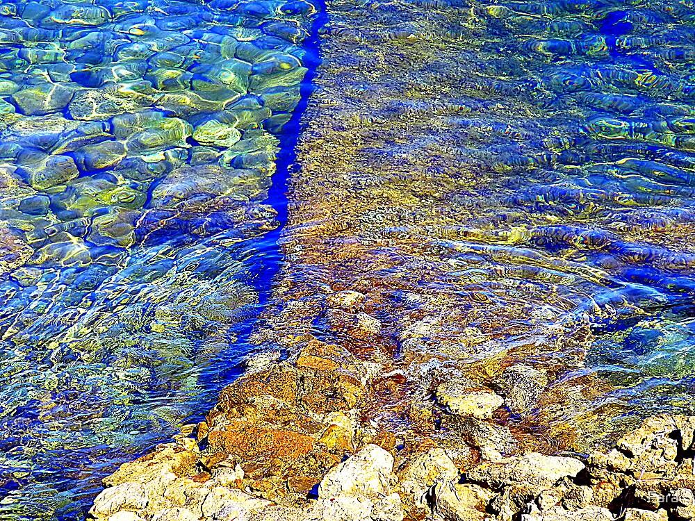 The Water Around Cap Ferrat by Fara
