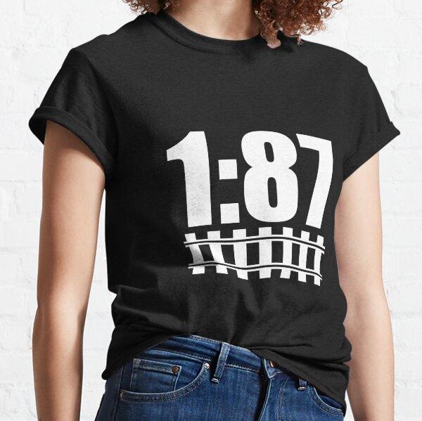 1:87 model train track H0 Classic T-Shirt