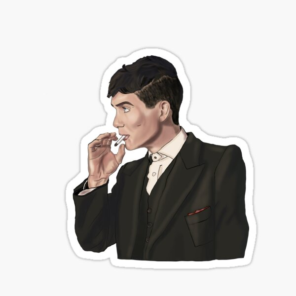 Tommy Shelby Sticker