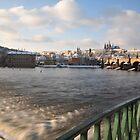 Vltava, Karlův most & Hradčany by Denitsa Prodanova