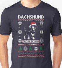 DACHSHUND THROUGH THE SNOW 2 Unisex T-Shirt