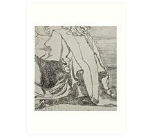 Madame de Pompadour Art Print