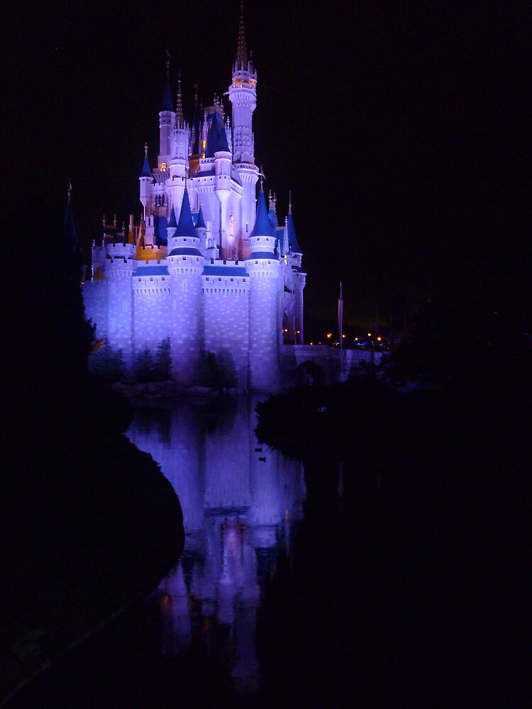 Reflections of a castle by Dazie4252