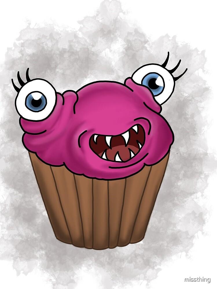 Freaky food item: Cupcake by missthing