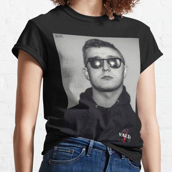 Vald - Black & white T-shirt classique