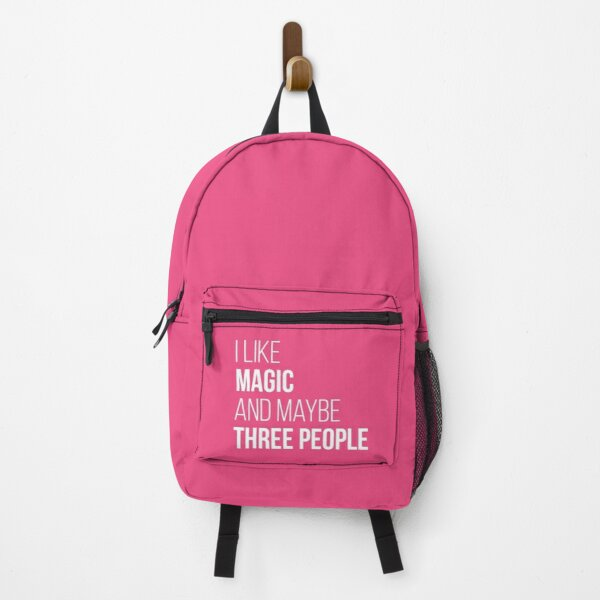 I like Magic and maybe three people for Women Backpack