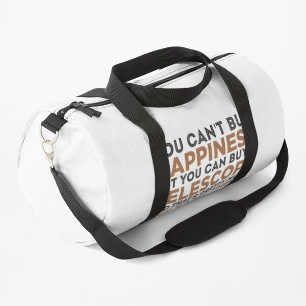 Astronomy Gift Telescope Astronomers Space Stars Present Duffle Bag