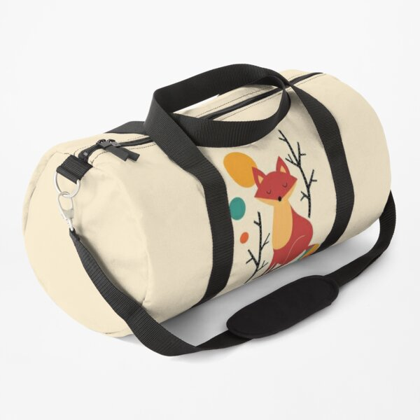 Rainbow Fox Duffle Bag