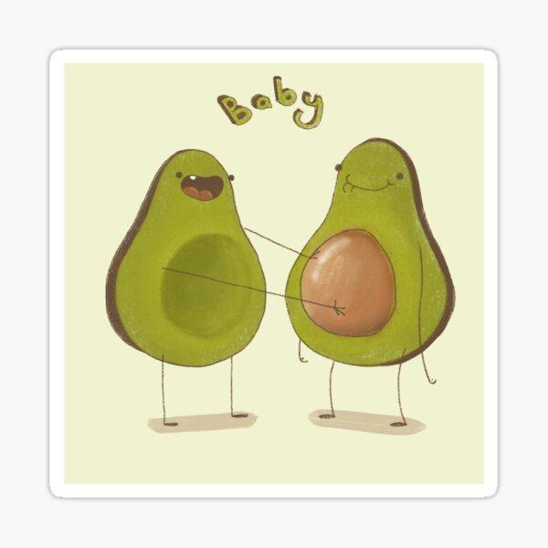 Avocado Baby Sticker