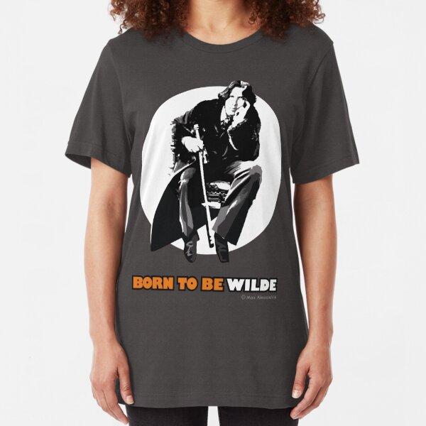 Nacido para ser salvaje Camiseta ajustada