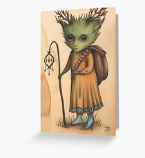 The Soothsayer Greeting Card