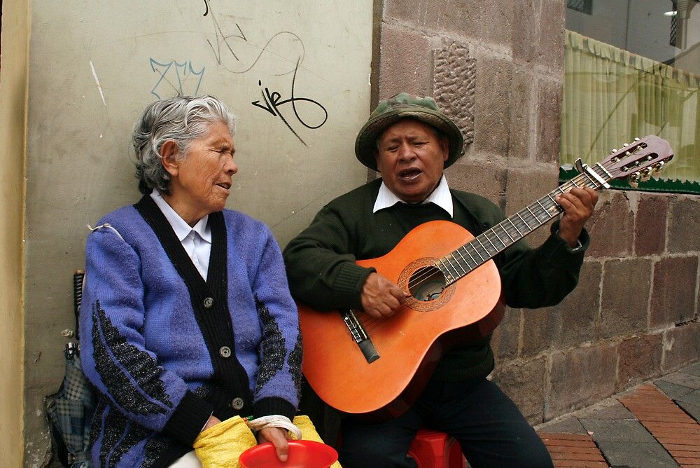 People 4059 Quito, Ecuador by Mart Delvalle