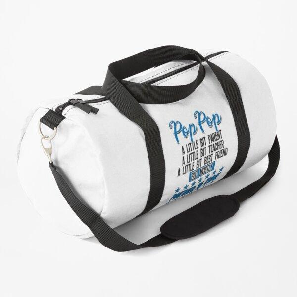 Pop Pop Funny - Pop Pop Partner In Crime Duffle Bag