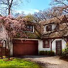 House - Westfield NJ - Who doesn't love spring  by Michael Savad