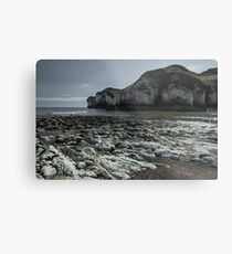 Flamborough Head Cove Metal Print