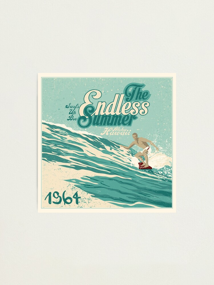 Alternate view of The Endless Summer Photographic Print