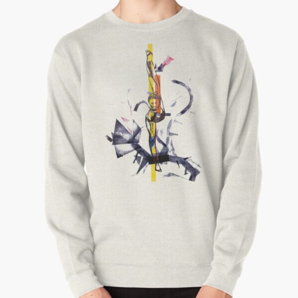 pen and Chinese ink stamps) . Available in sheets! Available on prints! Pullover Sweatshirt