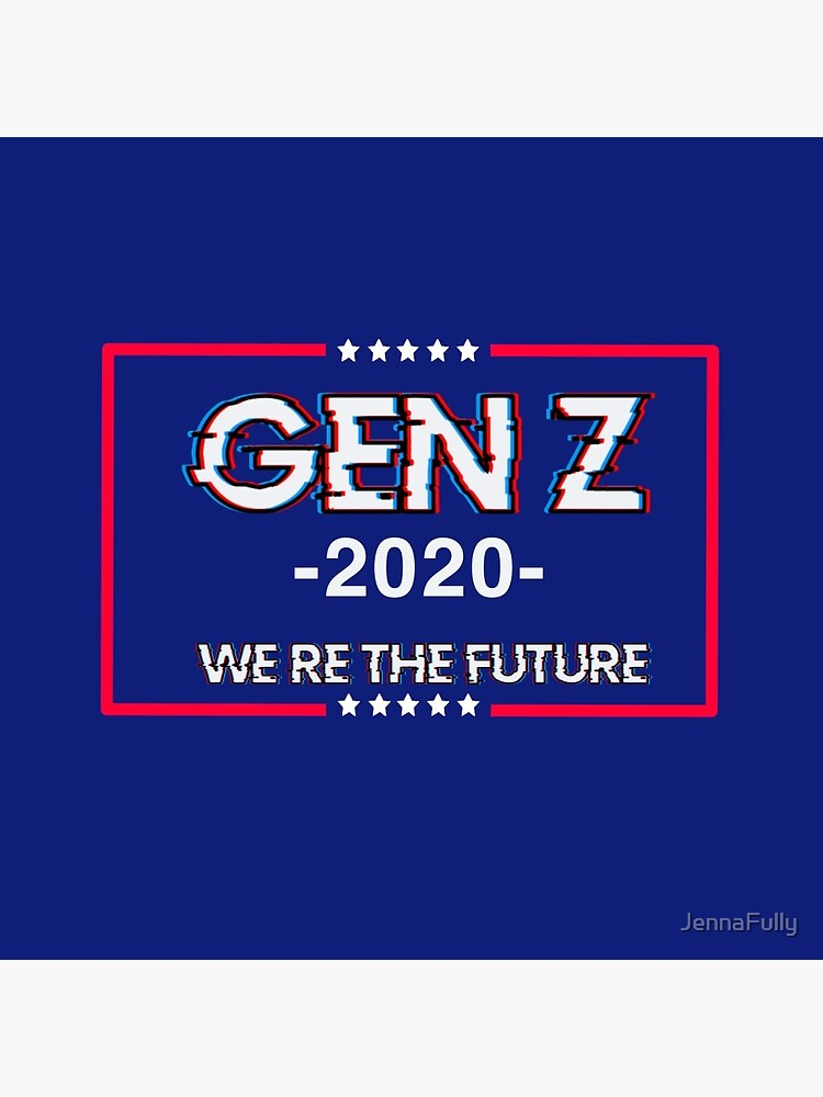 Gen Z 'we're the future' flag by JennaFully