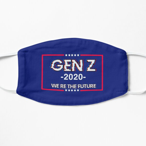 Gen Z 'we're the future' flag Mask