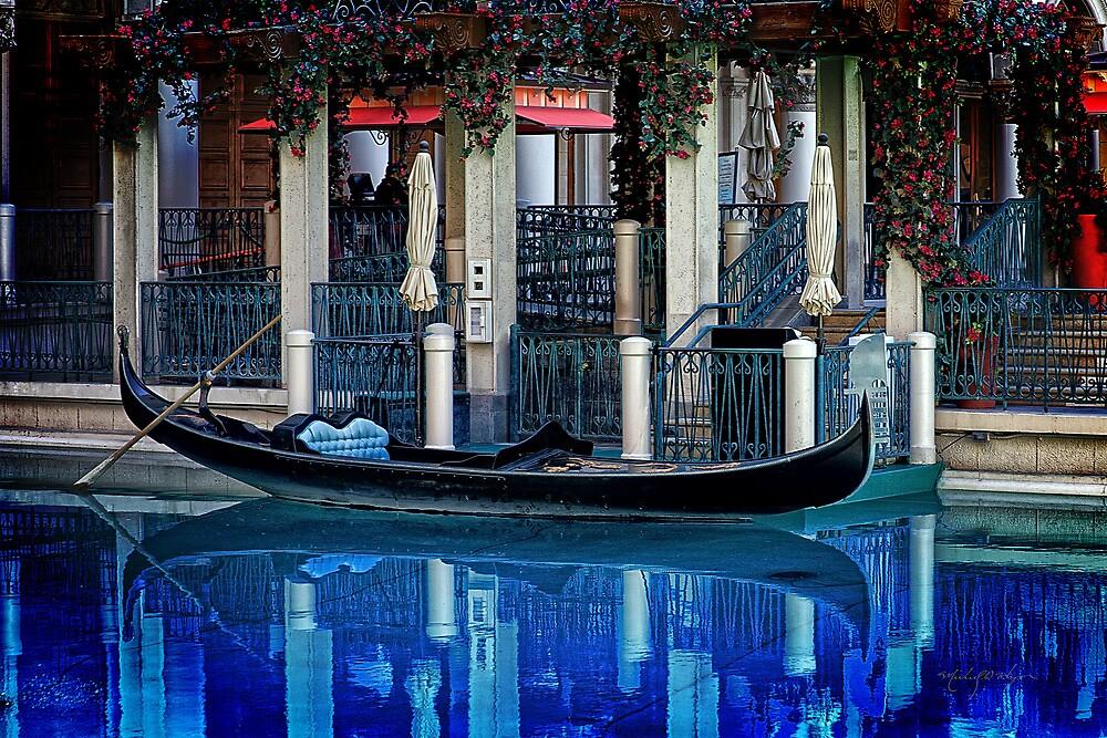 Venetian Gondola by Michael  Hays