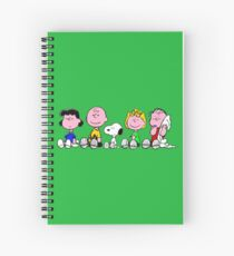peanuts! Spiral Notebook