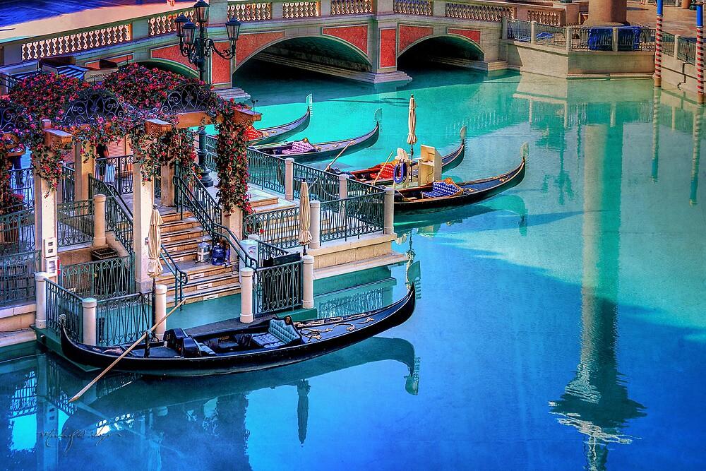 Venetian Gondola Lauch Site by Michael  Hays