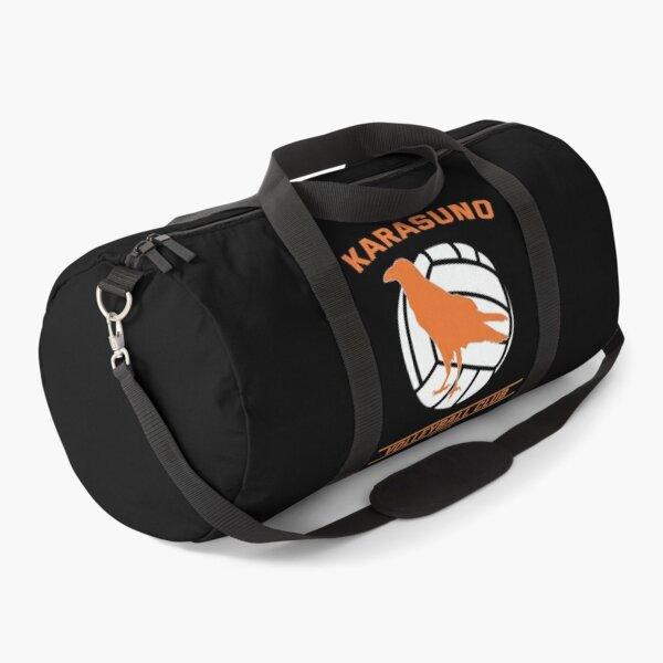 Haikyuu!,Karasuno High School Volleyball Club, Orange Duffle Bag