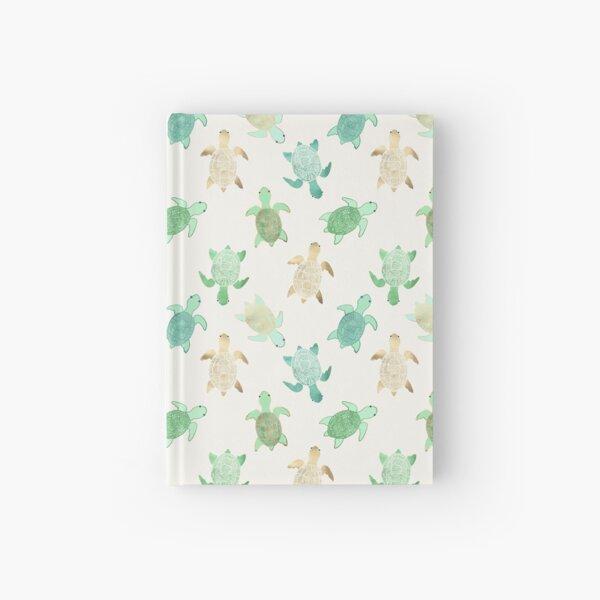 Gilded Jade & Mint Turtles Hardcover Journal
