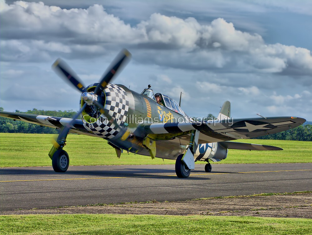 Snafu -Flying Legends 2012 - HDR by Colin  Williams Photography