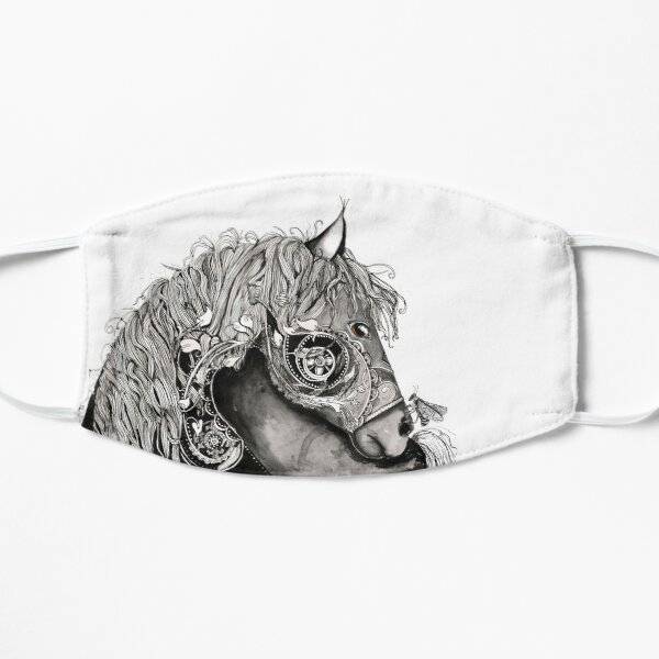 Horse with a bug Small Mask