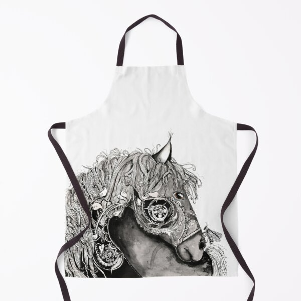 Horse with a bug Apron