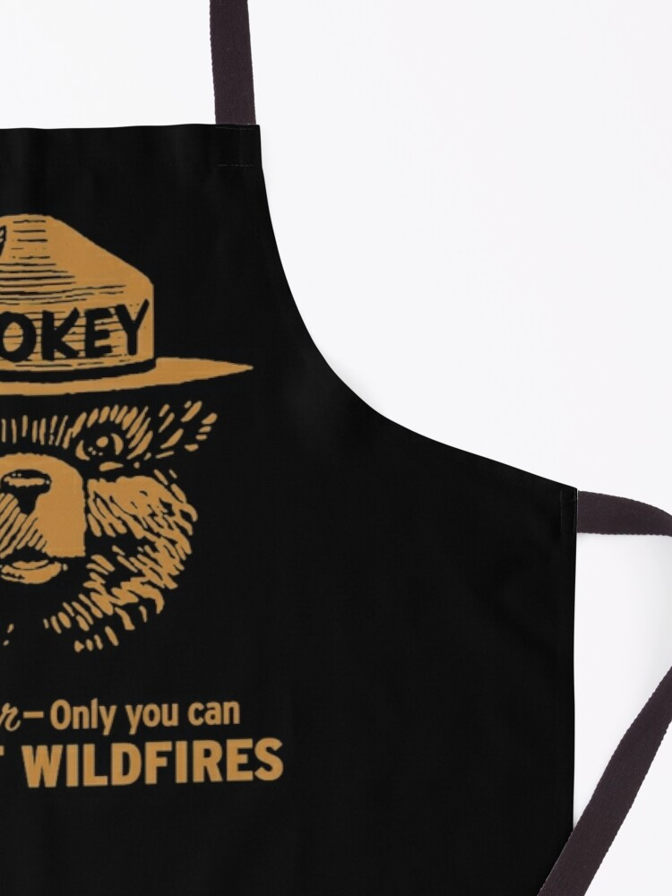 Alternate view of Smokey Only You Can Apron