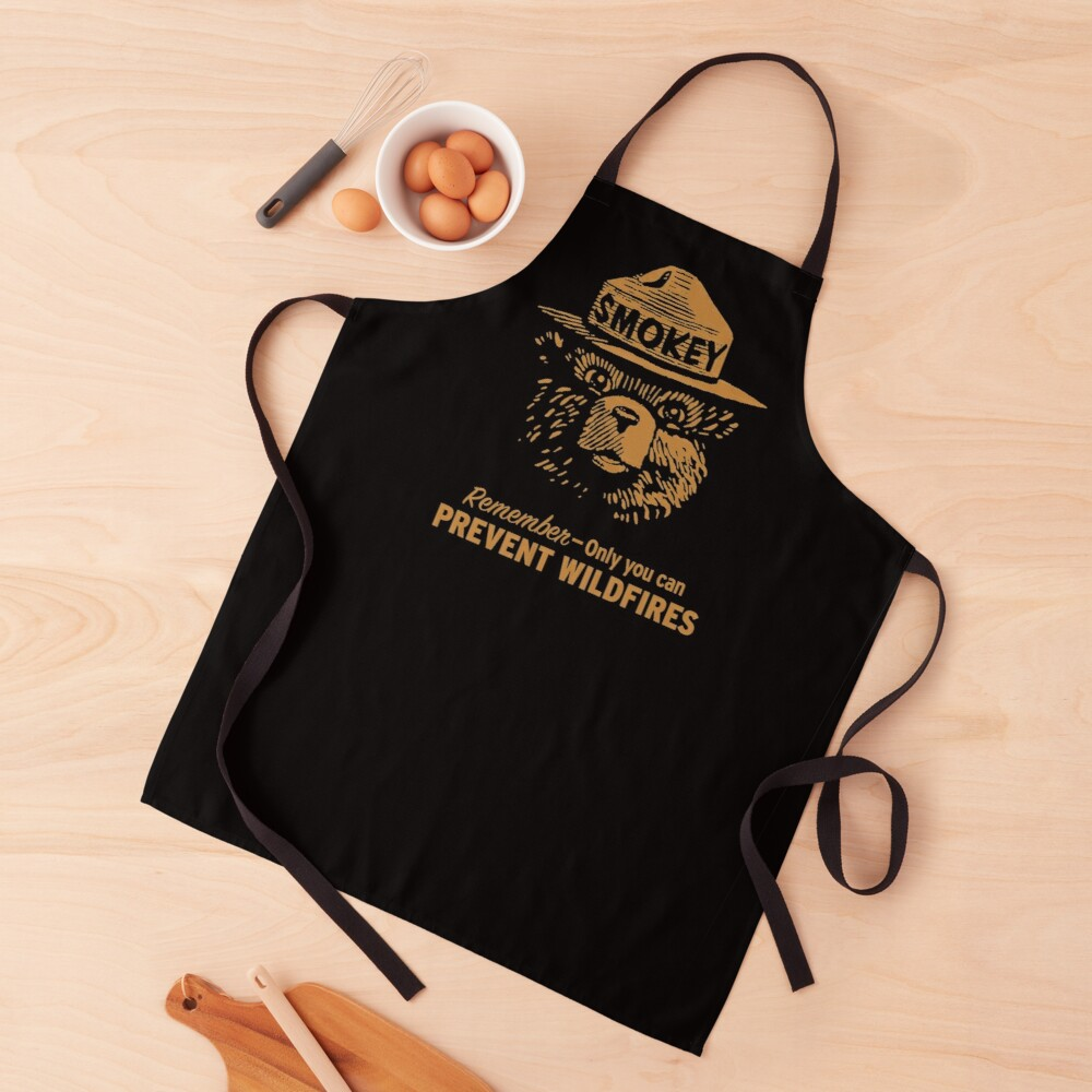 Smokey Only You Can Apron