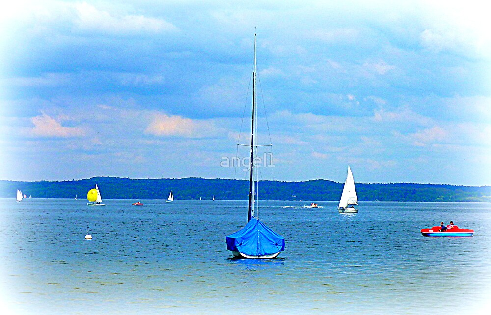 Ammersee boats by ©The Creative  Minds