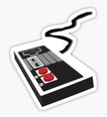 Retro Controller Sticker