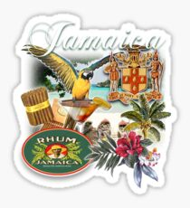 jamacia  Sticker