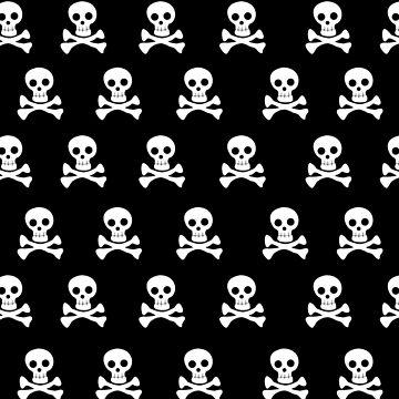 Black Skulls by rawrclothing